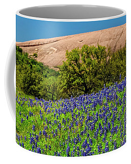 Texas Bluebonnets And Enchanted Rock 2016 Coffee Mug