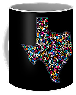 Texas Map - 2 Coffee Mug