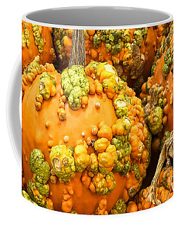 Textured Pumpkins  Coffee Mug