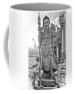 Thai Bodyguard Bw Coffee Mug