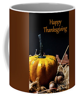 Thanksgiving Dinner Invitation Card. Coffee Mug