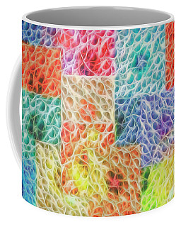 Coffee Mug featuring the digital art That Which Binds Us All by Mike Braun