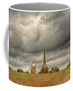 Coffee Mug featuring the photograph Thaxted - An English Countryside View by Chris Cousins