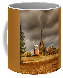 Coffee Mug featuring the photograph Thaxted Village by Chris Cousins