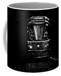 Coffee Mug featuring the photograph The 505 Dundas Streetcar Toronto Canada by Brian Carson