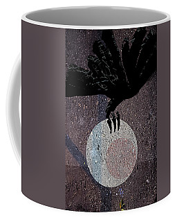 Coffee Mug featuring the digital art The Abduction Of The Moon by Attila Meszlenyi