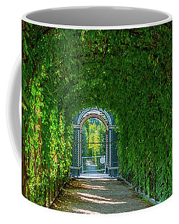 The Alley Of The Ivy Coffee Mug