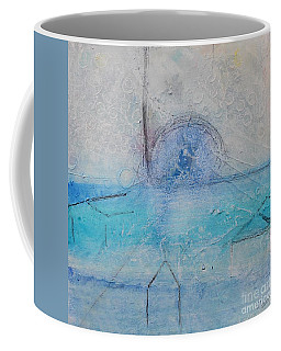 Coffee Mug featuring the painting The Angels Above Us by Kim Nelson