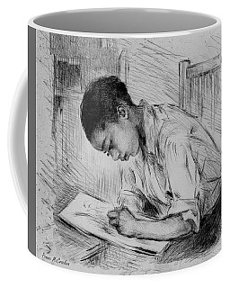 Coffee Mug featuring the photograph The Artist by Pennie McCracken