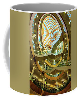 The Atrium Staircase Of The Liverpool Central Library Coffee Mug