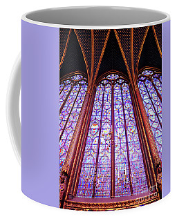 Coffee Mug featuring the photograph The Awe Of Sainte Chappelle by Rick Locke