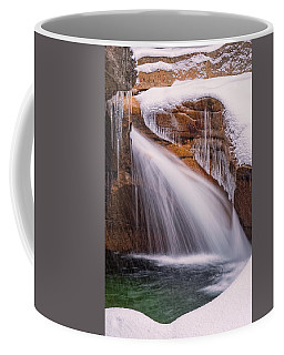 The Basin, Close Up In A Winter Storm Coffee Mug