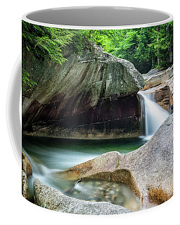 Coffee Mug featuring the photograph The Basin, Springtime Nh by Michael Hubley
