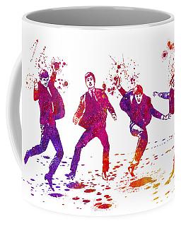 The Beatles Watercolor 01 Coffee Mug