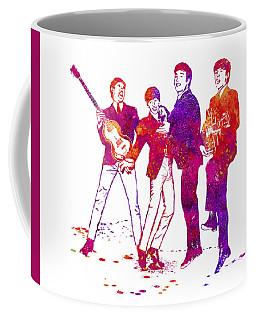 The Beatles Watercolor 02 Coffee Mug