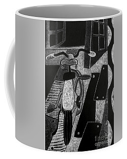The Bicycle. Coffee Mug