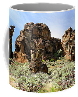 Arches Hoodoos And Castles The Big Picture Little City Of Rocks Coffee Mug
