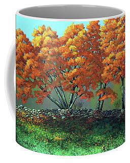 The Blaze Of Autumn Coffee Mug