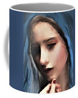 The Blue Scarf Coffee Mug