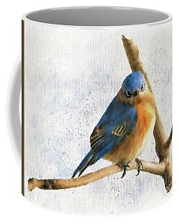The Bluebird Of Unhappiness Coffee Mug