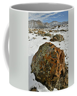 The Book Cliff's Colorful Boulders Coffee Mug
