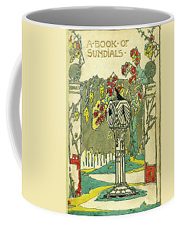 Cover Design For The Book Of Old Sundials Coffee Mug