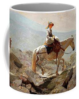 The Bridle Path, White Mountains - Digital Remastered Edition Coffee Mug