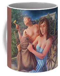 the Canary Coffee Mug