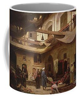 The Carpet Bazaar, Cairo, Before 1866  Coffee Mug