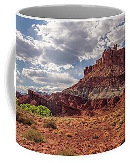 The Castle At Mummy Cliffs Coffee Mug
