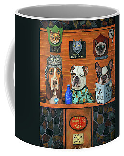 The Cat Hunters Coffee Mug