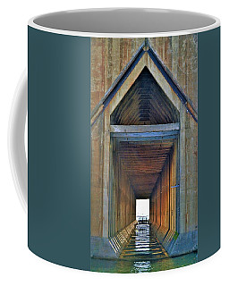 The Cathedral Ore Dock Of Marquette Coffee Mug