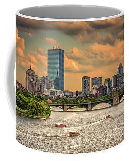 The Charles, Duck Boats And Boston's Back Bay Coffee Mug