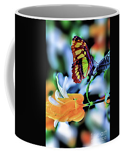The Charm Of A Butterfly Coffee Mug