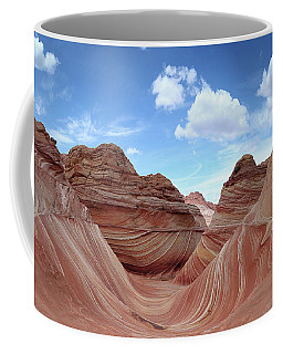 Coffee Mug featuring the photograph The Classic Wave by Mike Long