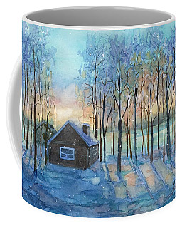 The Color Of Winter Is White ? Coffee Mug