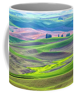 The Color Palette Of The Palouse Coffee Mug
