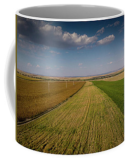 The Colored Fields Coffee Mug