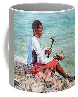 The Conch Boy Coffee Mug