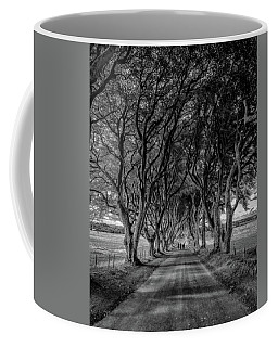 Coffee Mug featuring the photograph The Dark Hedges by Chris Cousins