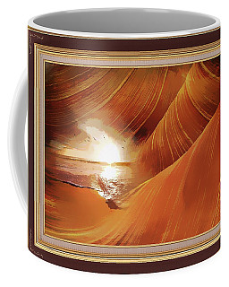 The Desert And The Tide Fantasy Coffee Mug