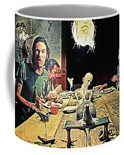 The Dinner Scene - Texas Chainsaw Coffee Mug