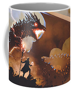 The Dragon Wizard Coffee Mug