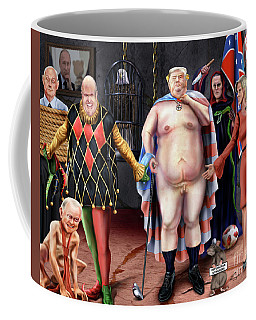 The Emperor And His Crazy House Coffee Mug