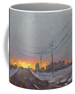 The End Of A Gray Day Coffee Mug