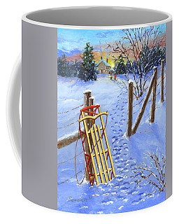 The End Of The Day Coffee Mug