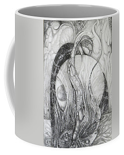 The Erratic Gathering Of Undisciplined Biomorphic Objects  Coffee Mug