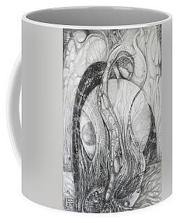The Erratic Gathering Of Undisciplined Biomorphic Objects  Coffee Mug