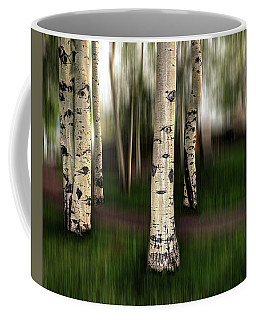 Coffee Mug featuring the photograph The Eyes Of Aspen Are Upon Us by Wayne King
