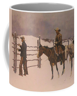 The Fall Of The Cowboy Coffee Mug